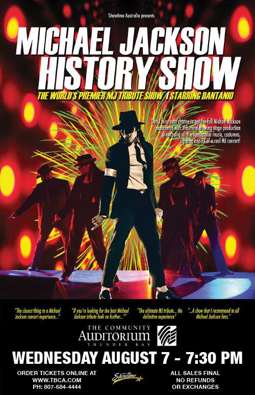 b1404697 Thunder Bay Community Auditorium - Michael Jackson History Show