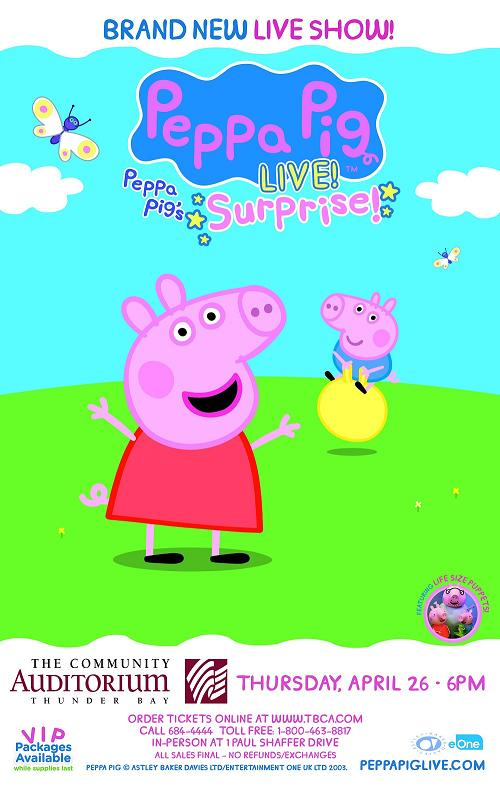 Peppa Pig's Big Surprise!